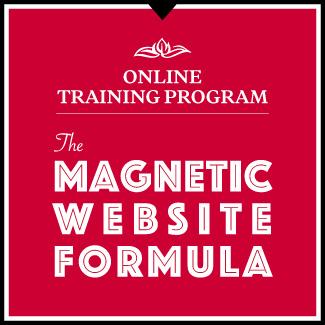 Online Training Program Magnetic Website Formula