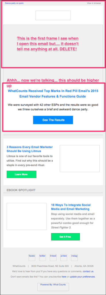eCommerce Email Fail - Images Not Displaying