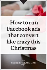 Christmas Facebook Ads eCommerce