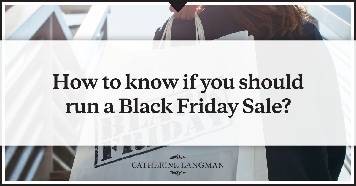 How to run a Black Friday Sale