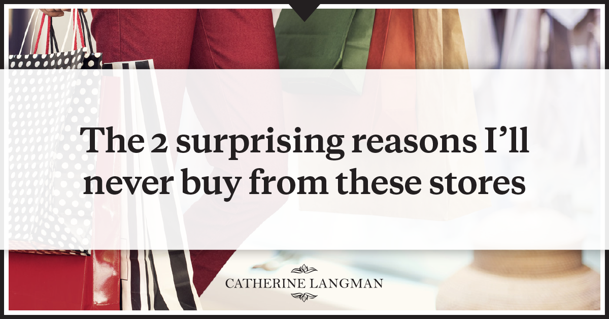 2 surprising reasons I'll never buy from these online stores
