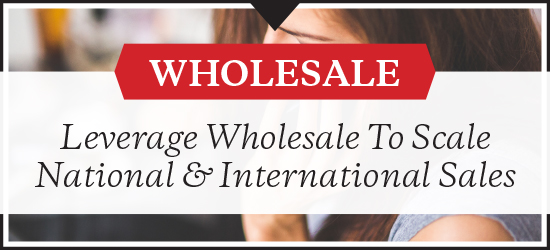 Grow wholesale sales